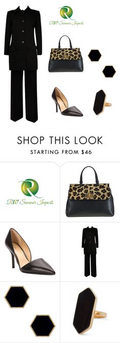 """RW Summer Imports"" by simpleelegance-558 ❤ liked on Polyvore featuring MICHAEL Michael Kors, Yves Saint Laurent, Janna Conner Designs and Jaeger"
