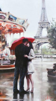 Романтика в работах Daniel Del Orfano