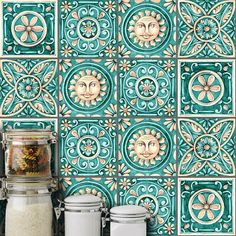 verde agua sala DIY Italy Style Mosaic Wall Stickers Waist Line Kitchen Adhesive Bathroom Toilet Waterproof PVC Wall Sticker Vinyl Wall Tiles, Self Adhesive Wall Tiles, Mosaic Wall Tiles, Tile Decals, Backsplash Tile, Splashback Tiles, Peel And Stick Tile, Stick On Tiles, Cheap Wall Stickers