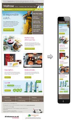Waitrose responsive email design