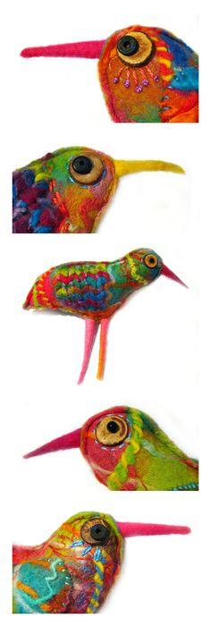 Elizabeth Armstrong, Australia - her lovely felt birdies