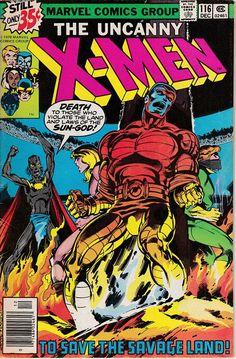 Uncanny X-Men 116 1963 1st Series Dec 1978  Marvel Comics