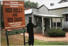 Ned and the gang robbed the bank at Jerilderie in Feb This is a picture of the old telegraph office. Ned Kelly, Melbourne, Random Stuff, Old Things, Australia, History, Country, Pictures, Random Things