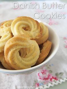 DreamersLoft: Danish Butter Cookies once more