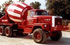 Beautiful Classic Ozinga Mixer Dump Trucks, Cool Trucks, Big Trucks, Heavy Duty Trucks, Heavy Truck, Cement Mixer Truck, Old Lorries, Concrete Mixers, Old Tractors