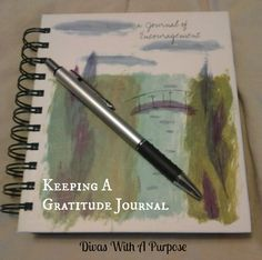 Do you keep a gratitude journal?  I try to write down at least five things each day that I'm thankful for. Some days are easier than others, but the taking the time to stop and reflect on my day and what I have (versus what I don't) makes a huge difference.  On the days that I'm too busy or tired, I can feel the difference in my attitude and overall demeanor.
