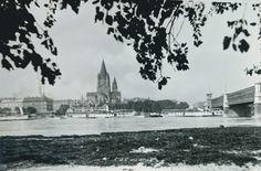 128 Wien II. Bei der Reichsbrucke 31388 Vintage Postcards, Wine, Vintage Travel Postcards
