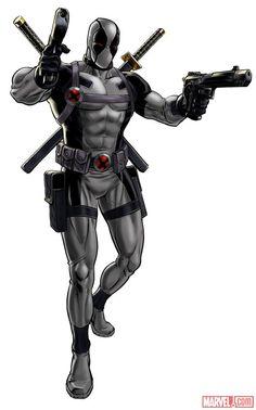 Uncanny X-Force Deadpool (alternate costume)   #Marvel: Avengers Alliance
