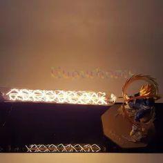 4 Dragon ball z sohn goku action-figuren led lampe diy anime modell tischlampe baby puppen nachtlicht f/ür zimmer kinder spielzeug dekor lampen
