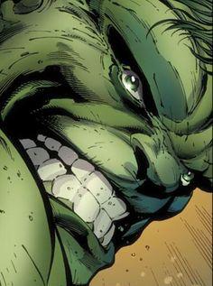 """Hulk. Smash! """"Definitely my childhood favourite!! Awesome artwork"""""""