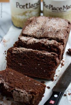 Starbucks' Chocolate Cinnamon Bread by tablefortwoblog #Bread #Cinnamon #Chocolate