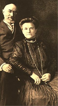Isador and Ida Straus. Isador owned Macy's. When the Titanic began to sink, Ida refused to get on a lifeboat without her husband. They were inseperable in life, writing to each other every day they were apart. He was offered a place with her, but HE refused, saying younger men should go in his place. He put his wife's maid on instead. They were last seen sitting together quietly on the deck of the Titanic. I hope to face my end with as much grace.