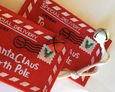 Lettera babbo natale, dear  Santa,party favor o bomboniera originale di spremutadipois su Etsy