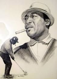 PGA golfer Charlie Sifford (1922-2015)
