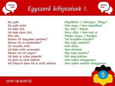 German Language Learning, Animales, Learn German, Knowledge