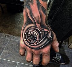 Turbo tattoo