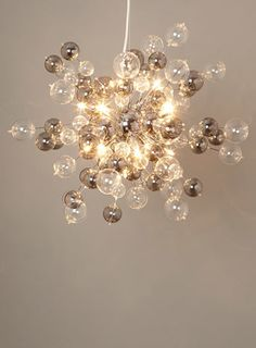 Bhs illuminate malachy 18 light cluster smoke electroplate another amazing bhs creation electra sputnik ceiling lights home lighting furniture aloadofball Choice Image