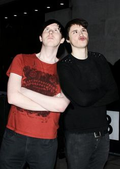 HOT!!  Phil Lester and Dan Howell