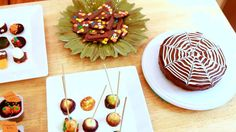 Halloween Desserts- Cake Journal