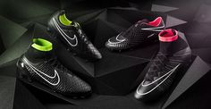 New 14-15 Nike Stealth Pack II Boots Released. Nike Magista/Superfly/Tiempo/Hypervenom blackout series.