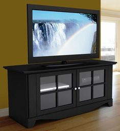 Nexera Pinnacle 56″ TV Stand - 20 Cool TV Stand Designs for Your Home