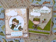 The Great Outdoors with Therm O Web and Kindred Stamps - Therm O Web Paper Strips, I Found You, Care Packages, Cool Cards, Pattern Paper, Some Fun, The Great Outdoors, Basket Weaving, Fairy Tales