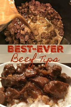 Beef Tip Recipes, Beef Recipes For Dinner, Cooker Recipes, Crockpot Recipes Beef Tips, Stew Meat Recipes, Beef Tips And Rice, Beef Tips And Gravy, Beef Tips And Noodles, Beef Dishes