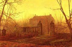 Autumn Morning by John Atkinson Grimshaw