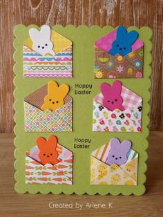 Sss march card kit 2016 sssfave q tip easter egg decorating fun and simple idea suitable for babies and toddler decotablepaques decorationpaques diypaques gateaudepaques idespourpques paquesmaternelle Easter Projects, Easter Crafts, Diy Easter Cards, Handmade Easter Cards, Happy Easter Cards, Hoppy Easter, Easter Bunny, Cricut Cards, Card Kit