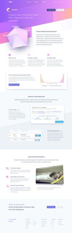 Stripe: Radar - Modern tools to prevent fraud, fully integrated with your payments.