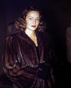 When they were young..  Gene Tierney candid, 1940s