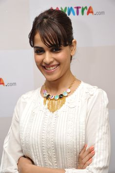 Genelia D'souza - Meet & Greet @ Myntra office for the latest Star N Style edition