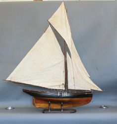 pond yachts on display - Google Search