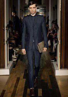 Adrien Sahores at Valentino Spring Summer 2014 Menswear Collection