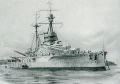 British Battleship HMS Revenge: Revenge fought at the Battle of Jutland on May 31, 1916 in Vice Admiral Sir Cecil Burney's 1st battle squadron.