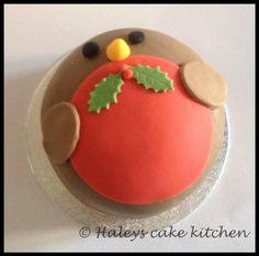 "Little 4"" christmas cakes - Cake by haley - CakesDecor"