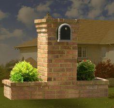 Brick Mailboxes & Planters, Masonry Contractors, Brick Masonry Mailboxes