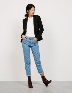 Blazers - Jassen en jacks - NEW COLLECTION - DAMES - Bershka Netherlands