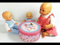 STOP MOTION Baby Doll Eating Baby Doll Potty Training And  Bathime With ...