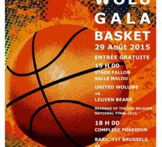 Scooore League: Brussels Basket - JSF Nanterre au Wolu Gala Basket