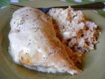 Cream Cheese Chicken is a recipe I originally hesitated sharing because it's not fancy or pretty. It is however, fast, inexpensive, tasty, and comforting.