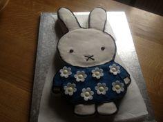 Miffy Birthday cake for Aurora's third birthday!