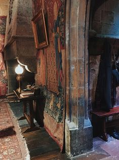 Harry Potter common room