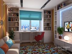 рабочее место у окна в детской: 20 тыс изображений найдено в Яндекс.Картинках