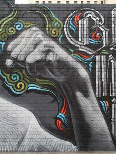 Mural Art by El Mac & Retna