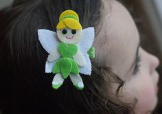 Tinkerbell Inspired Hair Clip  Absolutely by CravingCuteness, $3.75