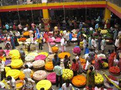 Bangalore city market / Krishna Rajendra market