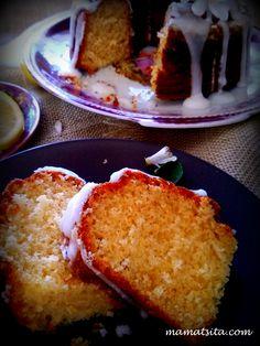κέικ λεμόνι Brownie Cake, Brownies, Piece Of Cakes, Vitamin C, I Foods, Pancakes, French Toast, Lemon, Bread