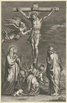 Christus aan het kruis, Peter Paul Rubens, 1612 - 1616