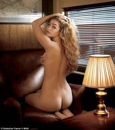 Sultry siren: Gigi Hadid, 19, showed off her flawless physique in a nude shoot for VMAN's ...